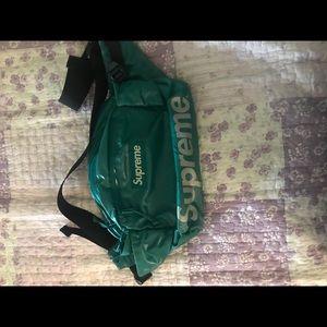 Teal supreme fanny pack